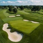 The 1st hole at Winged Foot.