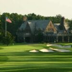 Winged Foot golf club.