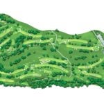 Winged Foot course map