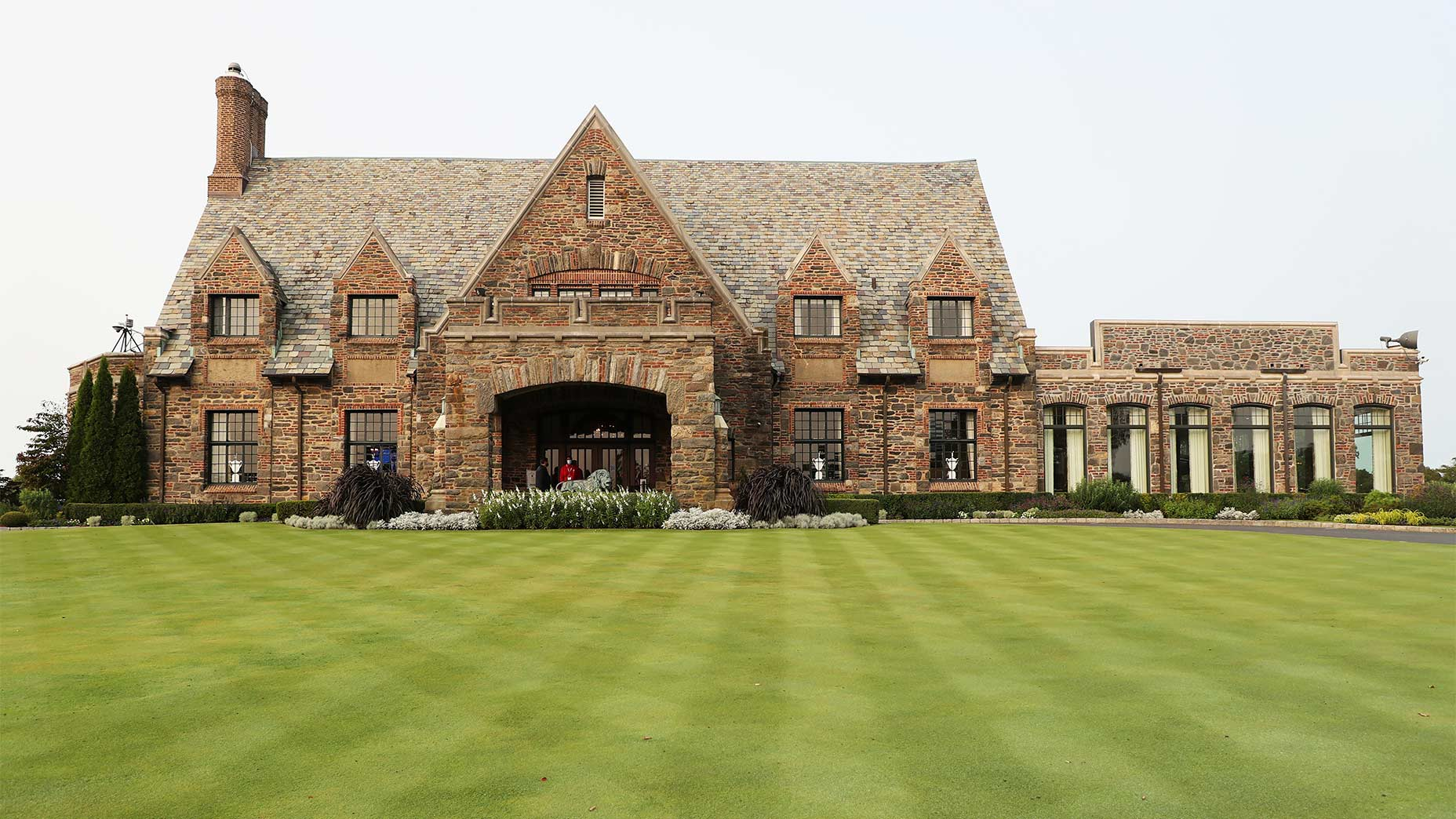Winged Foot's clubhouse.