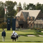 Winged Foot clubhouse.