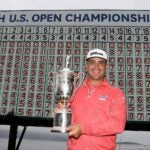 gary woodland with trophy