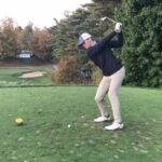 swings iron shot