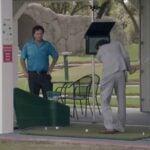 Borat golf scene