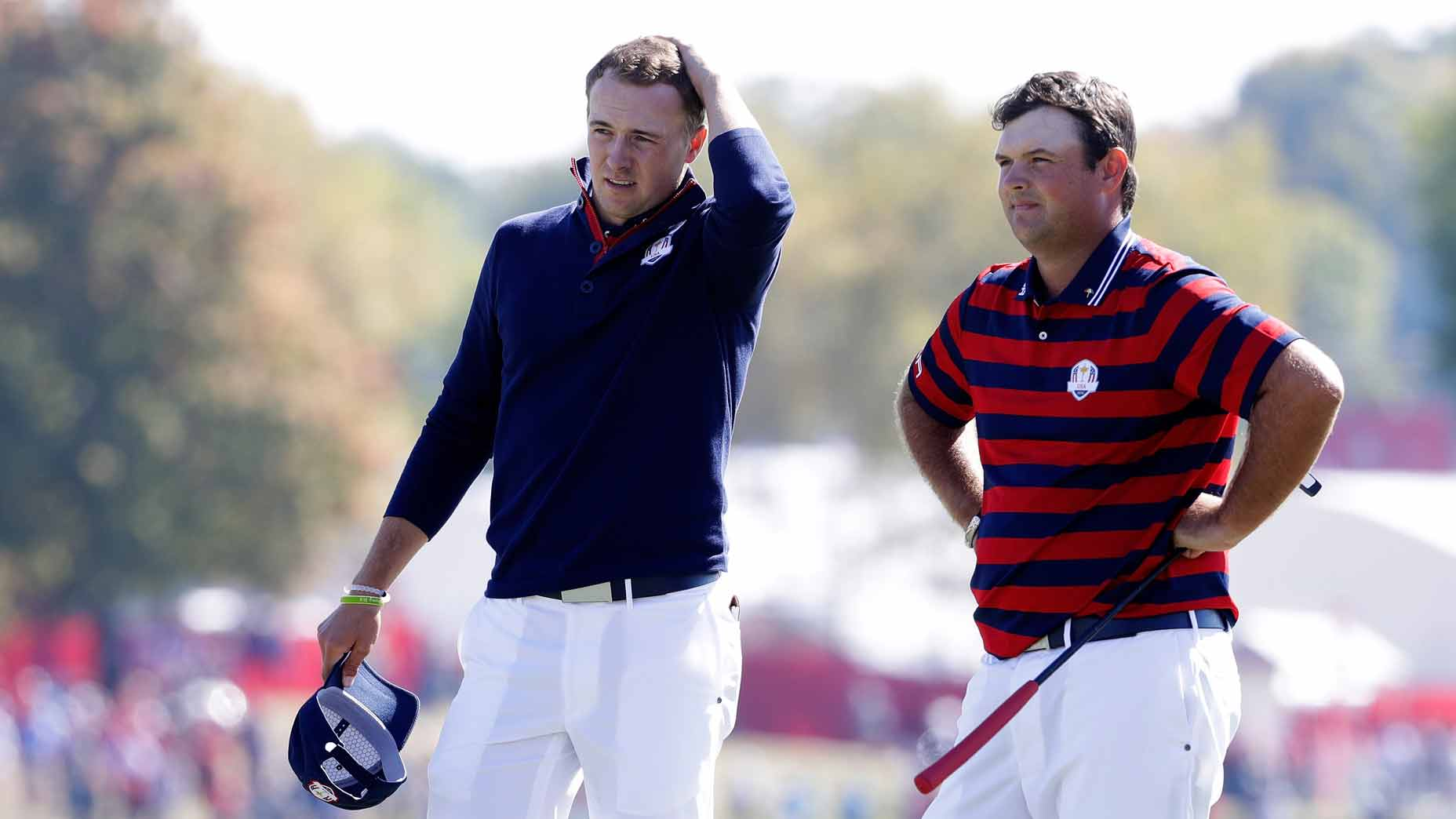 Jordan Spieth goes deep on the lead-up to 2018 Ryder Cup drama with Patrick Reed