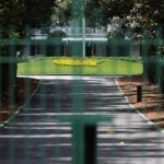 The entrance to Augusta National.