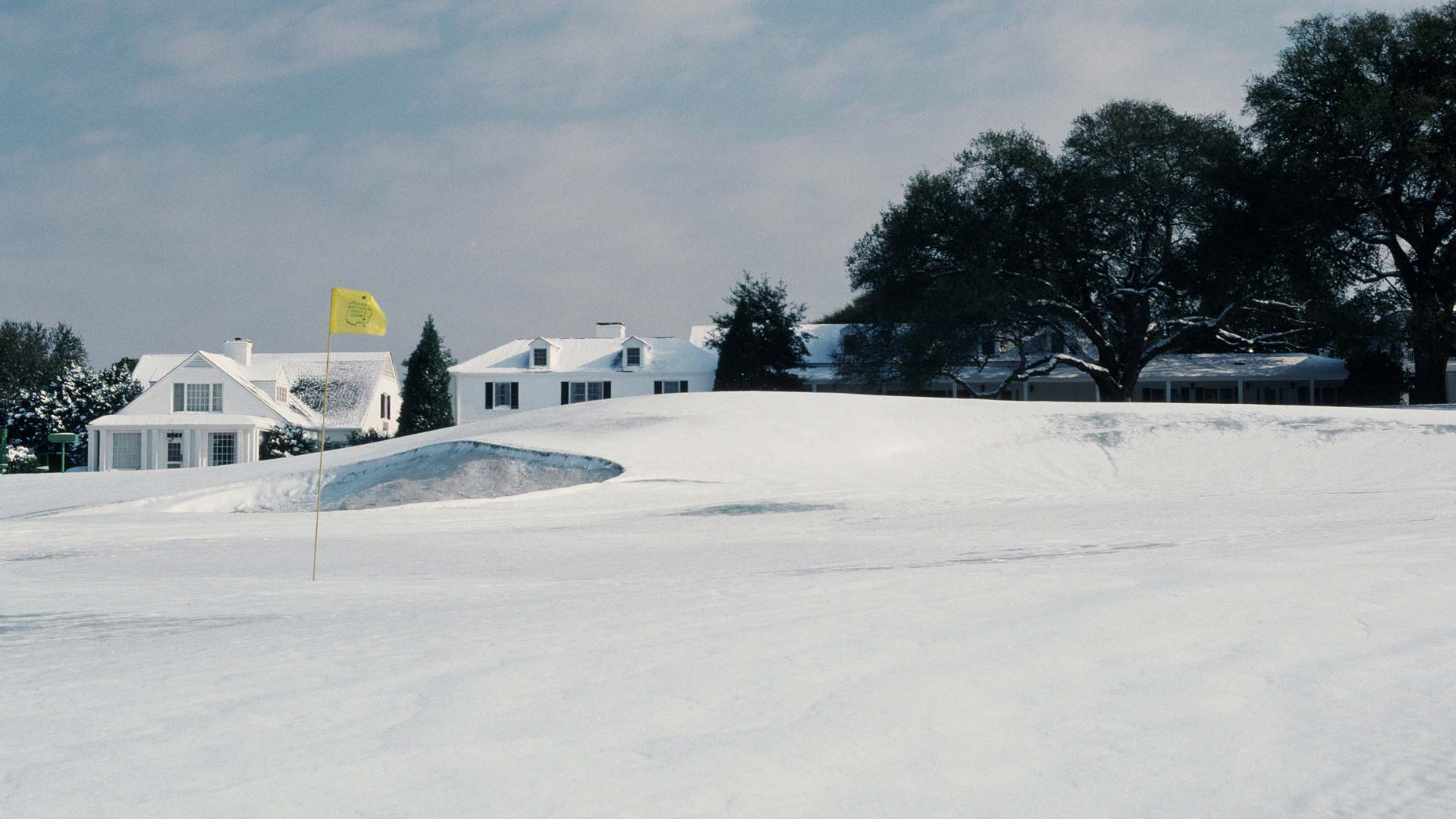 augusta national with snow