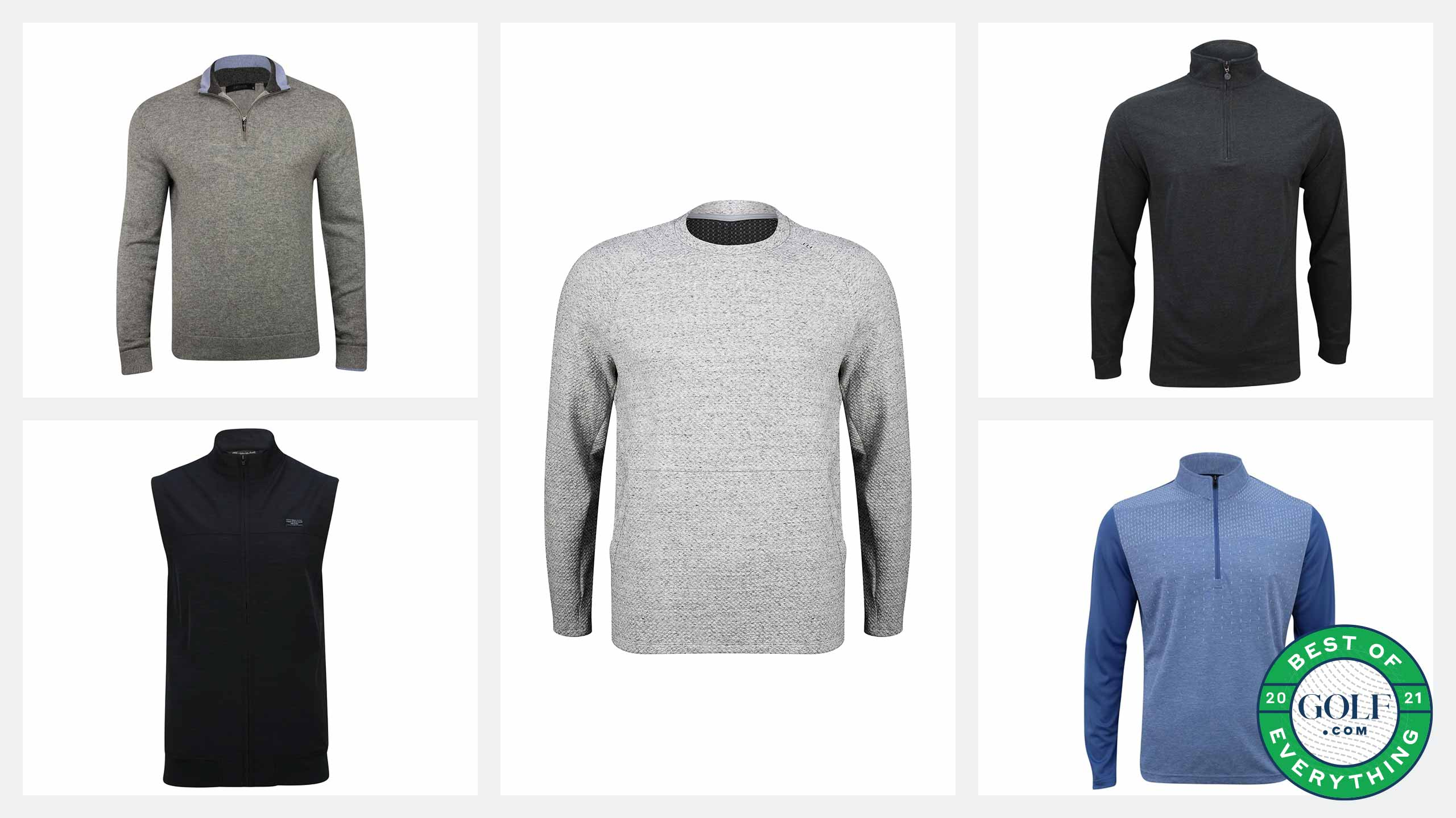 Best golf layering items