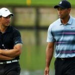 chris como talks to tiger woods