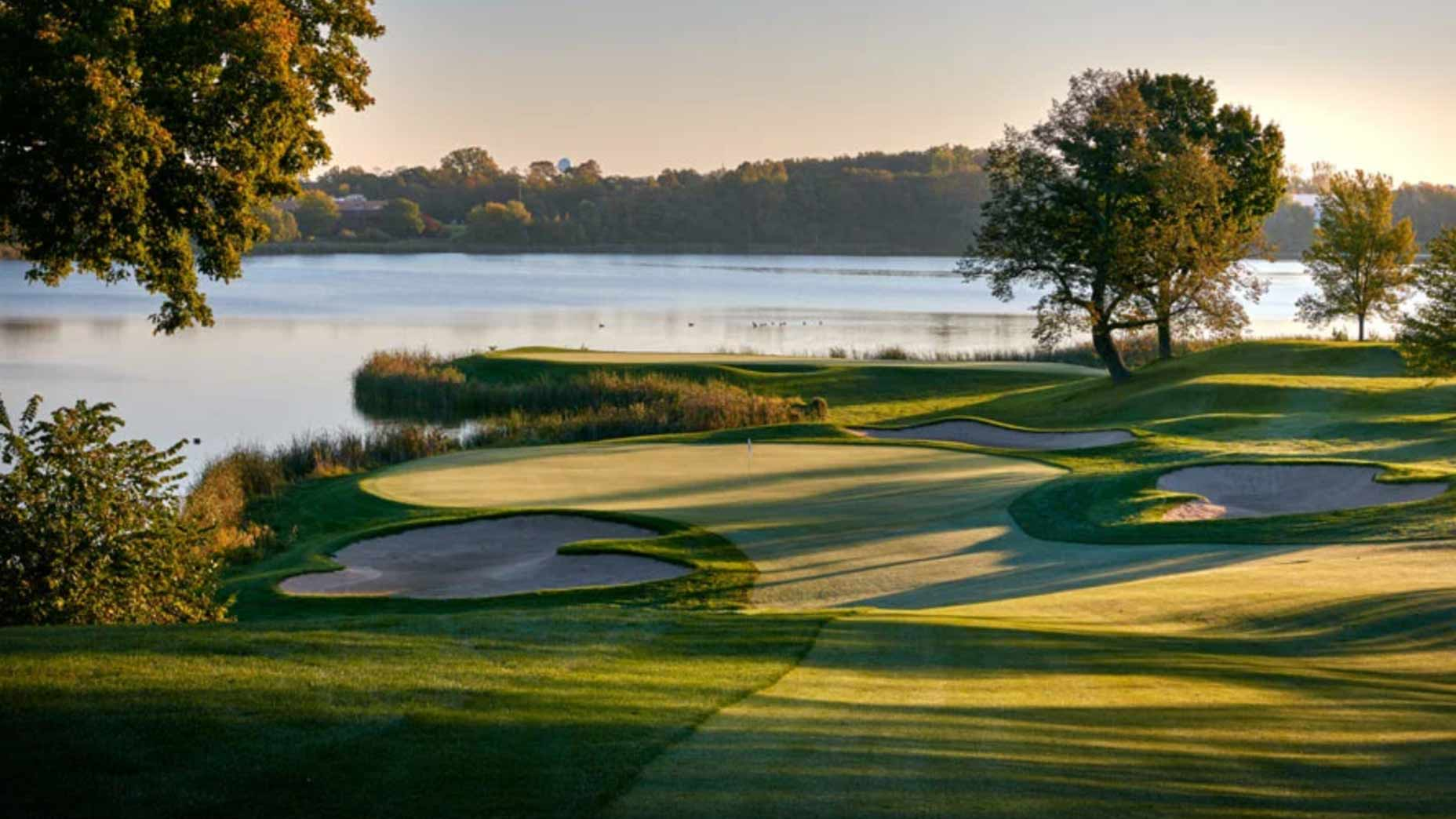 Hazeltine National in Chaska, Minnesota.