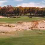 A view of the 2nd hole at Mammoth Dunes.