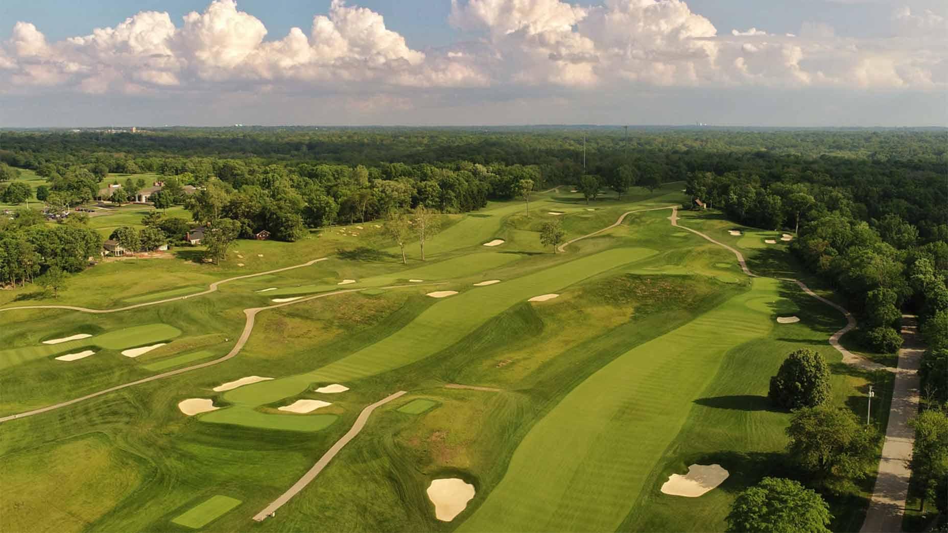 Moraine golf in Ohio.