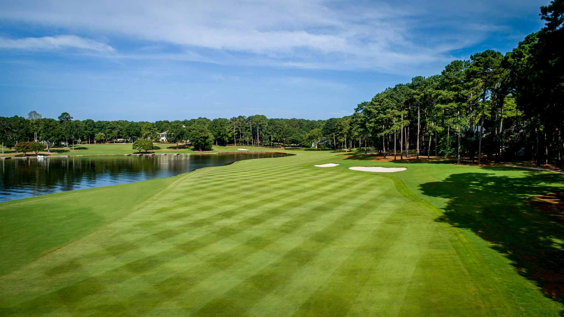 18th hole Great Waters course Reynolds Lake Oconee