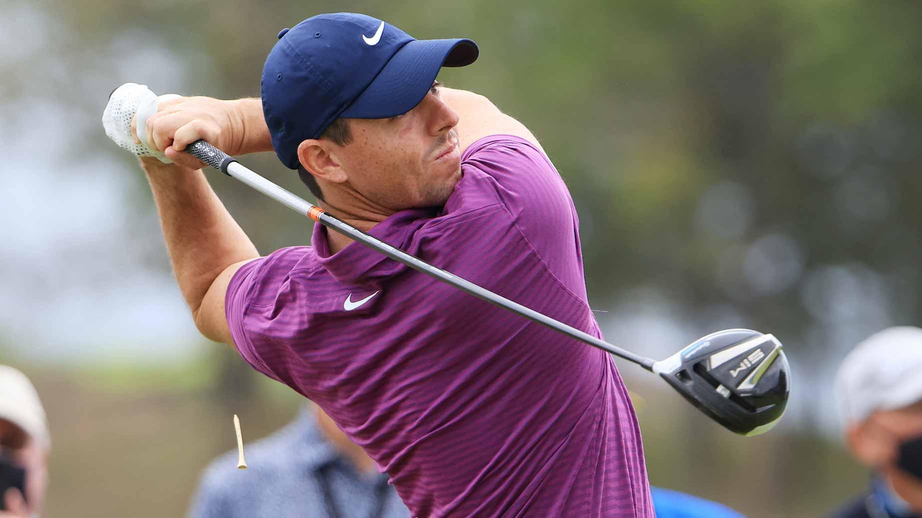 Rory McIlroy tweaks setup, hesitantly joins golf's ...