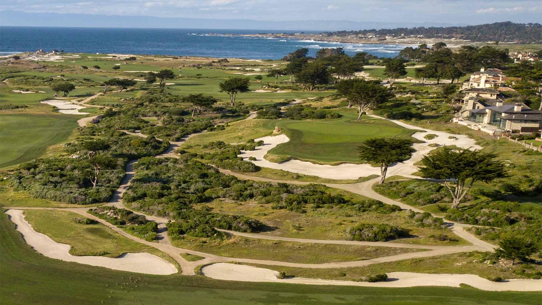 Monterey Peninsula Shore Course in Pebble Beach.