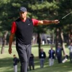 Tiger Woods at Zozo Championship