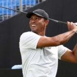 Tiger Woods at Zozo Championship