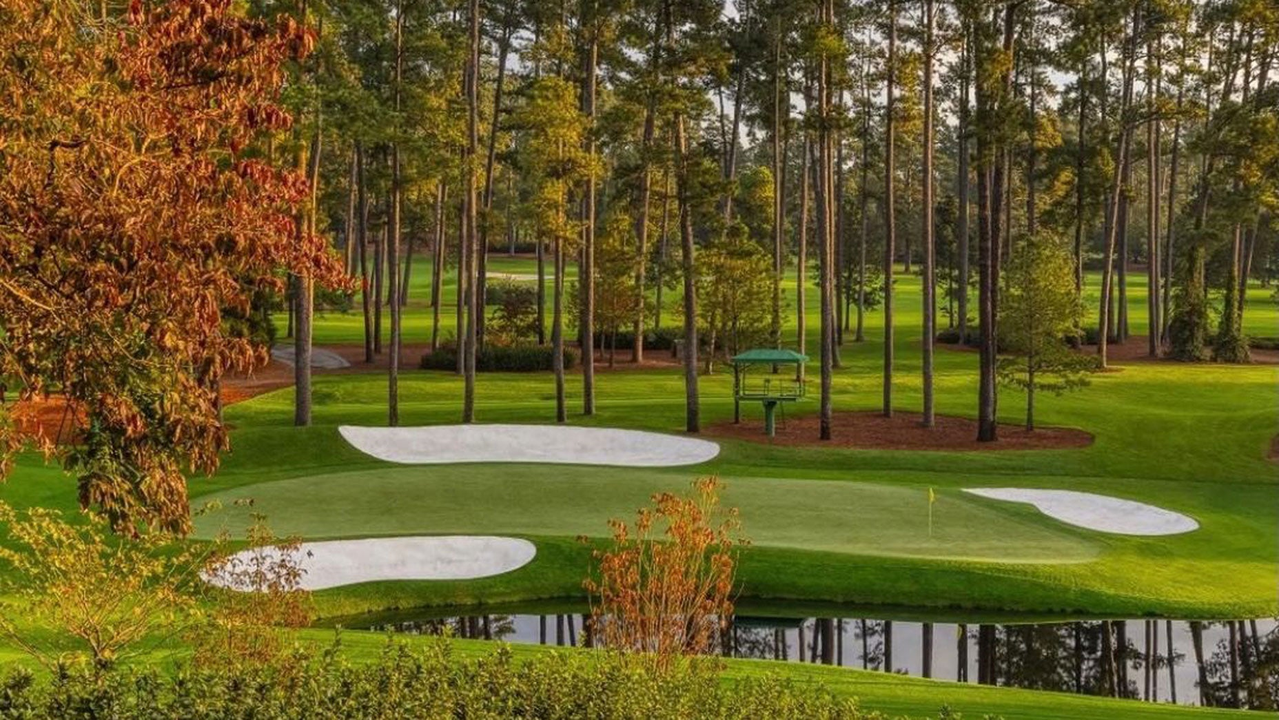 Here S Our Intriguing First Look At Augusta National For A November Masters