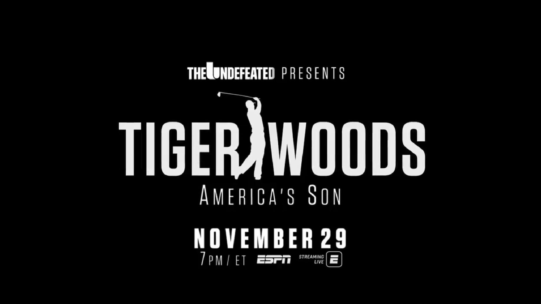 tiger woods documentary ESPN just dropped the trailer for its upcoming Tiger Woods documentary