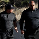 Phil Mickelson and Charles Barkley