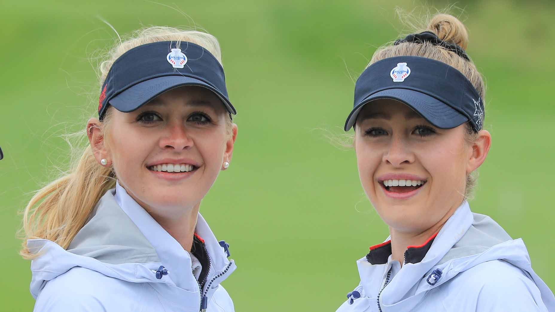 Jessica and Nelly Korda