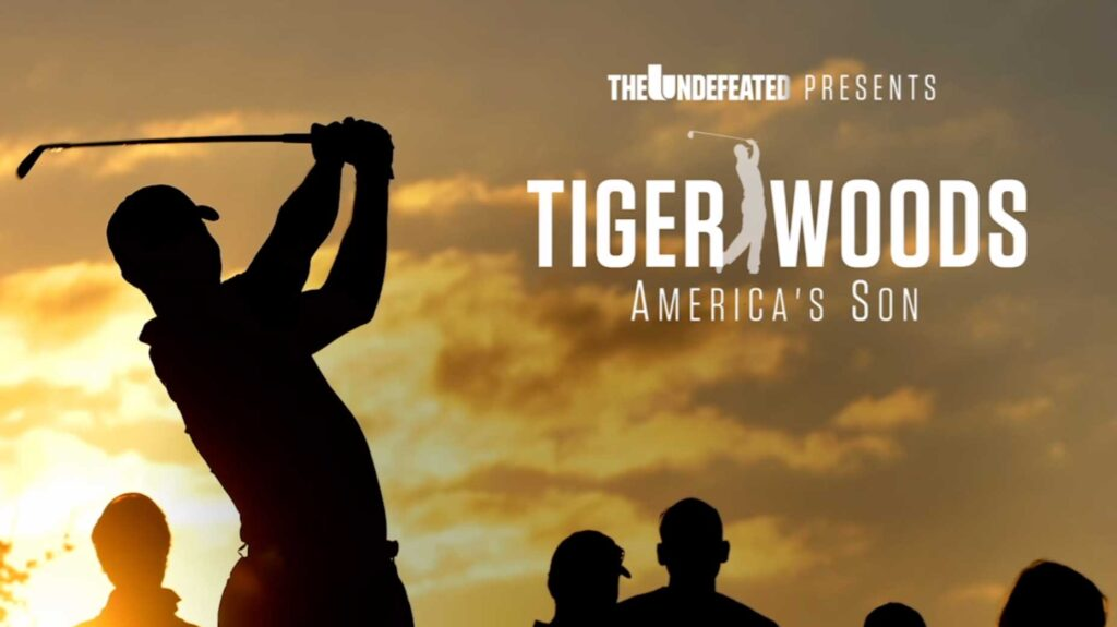 tiger woods america's son