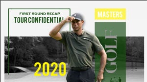 masters first round review 2020