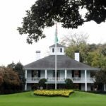 Augusta National clubhouse.