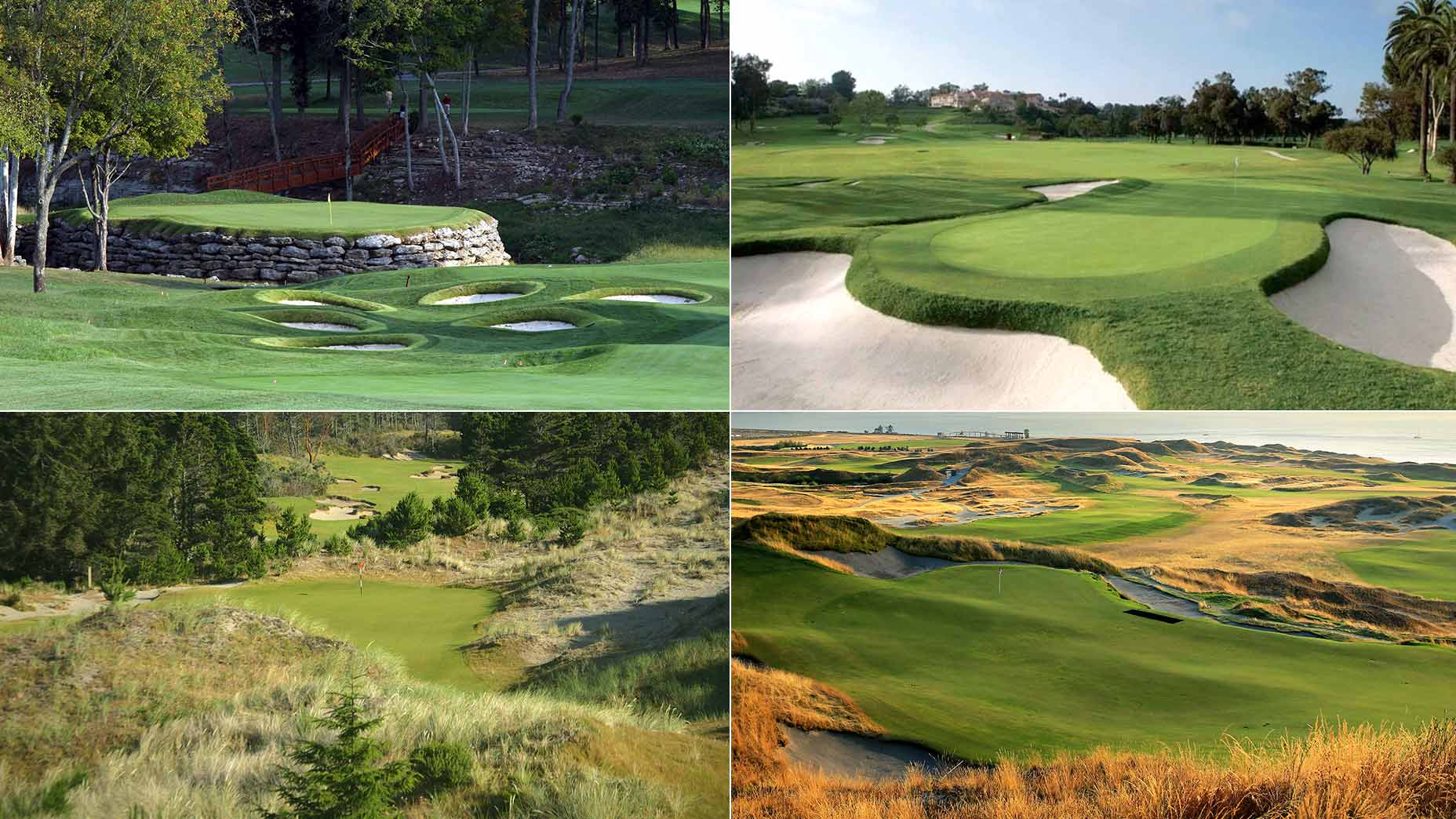 The best golf courses in every state.
