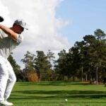 bryson dechambeau swings driver masters