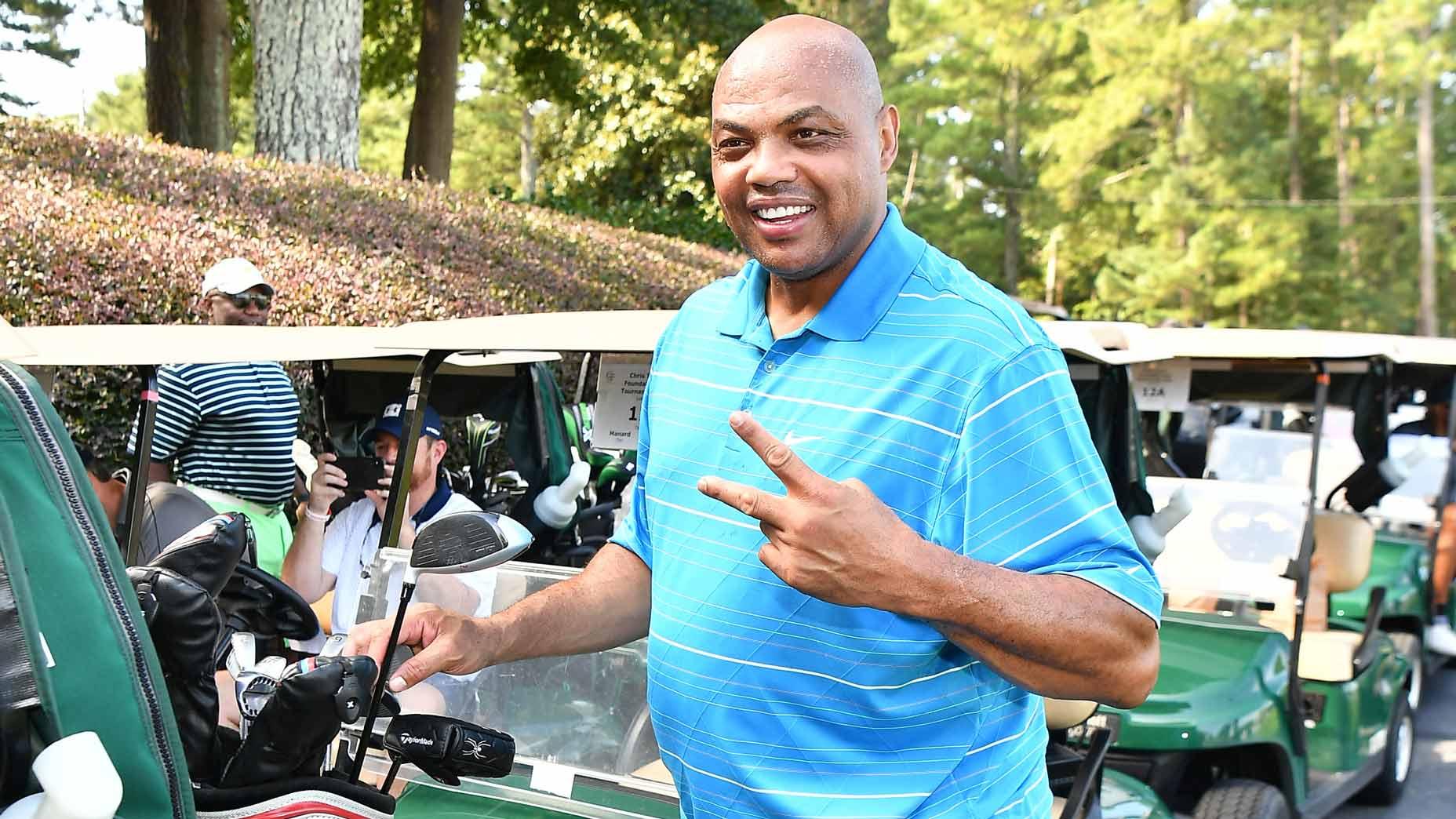Charles Barkley at Stone Canyon Golf Club