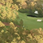 Drone footage of Augusta National and 2020 Masters