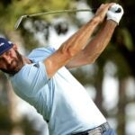 dustin johnson swings