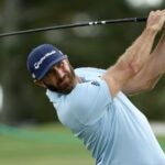 Dustin Johnson at 2020 masters