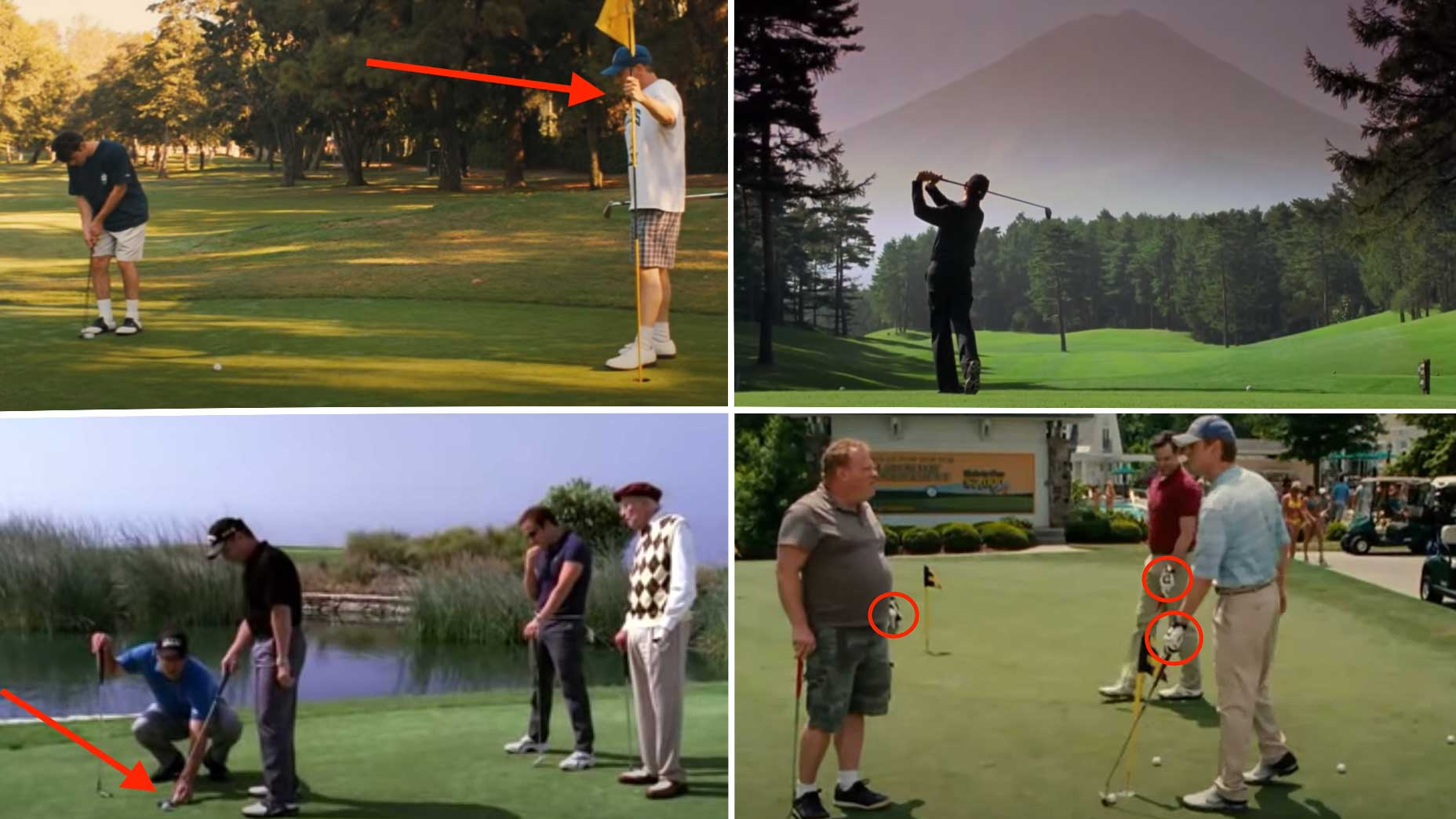 12 mistakes in film and TV golf scenes that only golfers would notice
