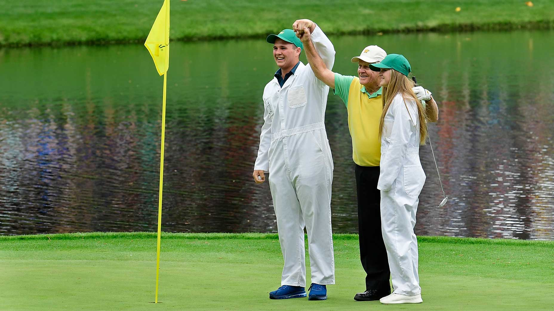 Jack Nicklaus at the 2018 Masters.