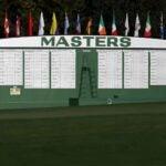 2020 Masters leaderboard