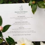 tiger woods champions dinner menu