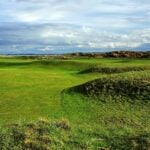 The par-4 14th hole at Royal Dornoch.