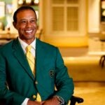 tiger woods smiles masters champions dinner