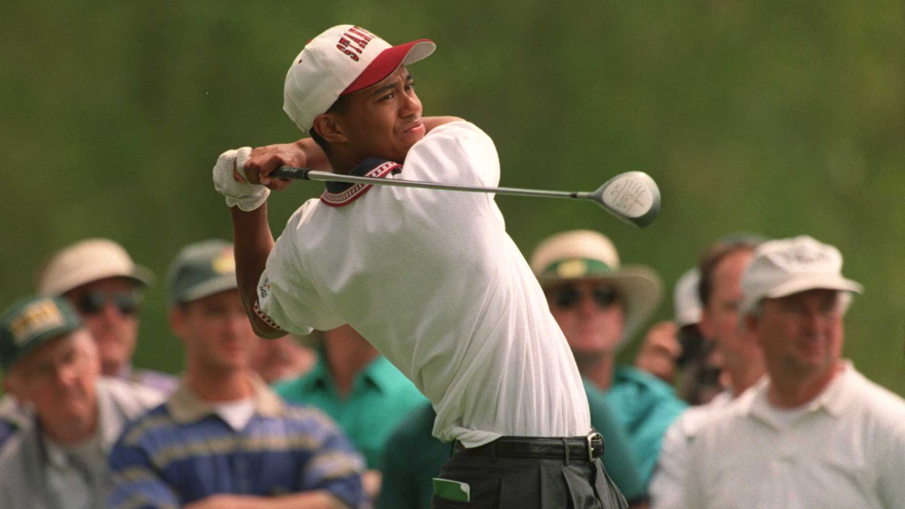The Embarrassing Way Tiger Woods Started His First Ever Masters