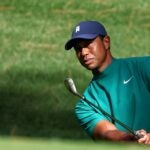 Tiger Woods at Masters