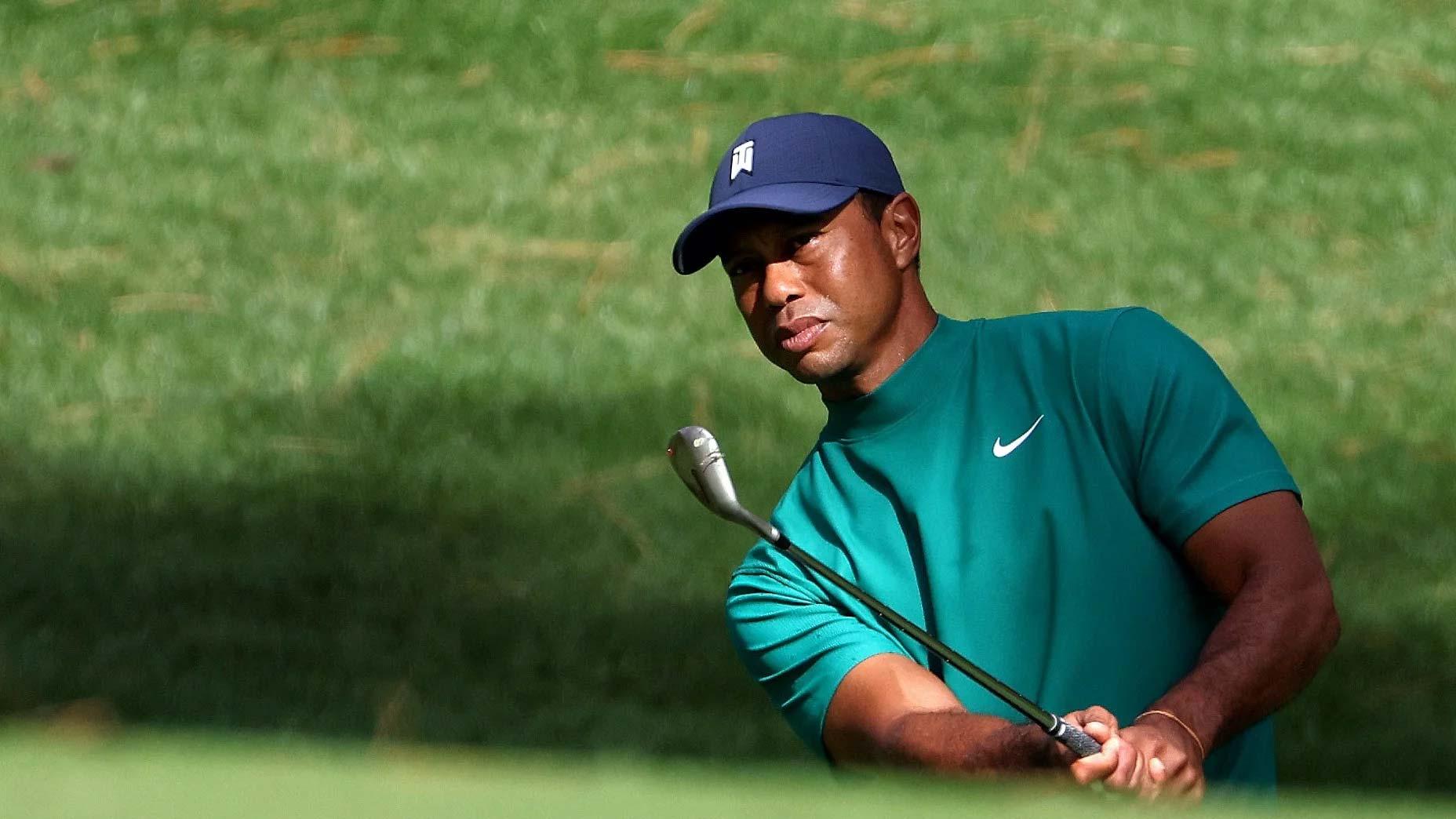 Tiger Woods at Masters