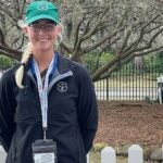 A.J. Hill is the only woman on the grounds crew at the U.S. Women's Open.