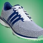 Adidas Tour360 XT-SL Spikeless Textile golf shoes.