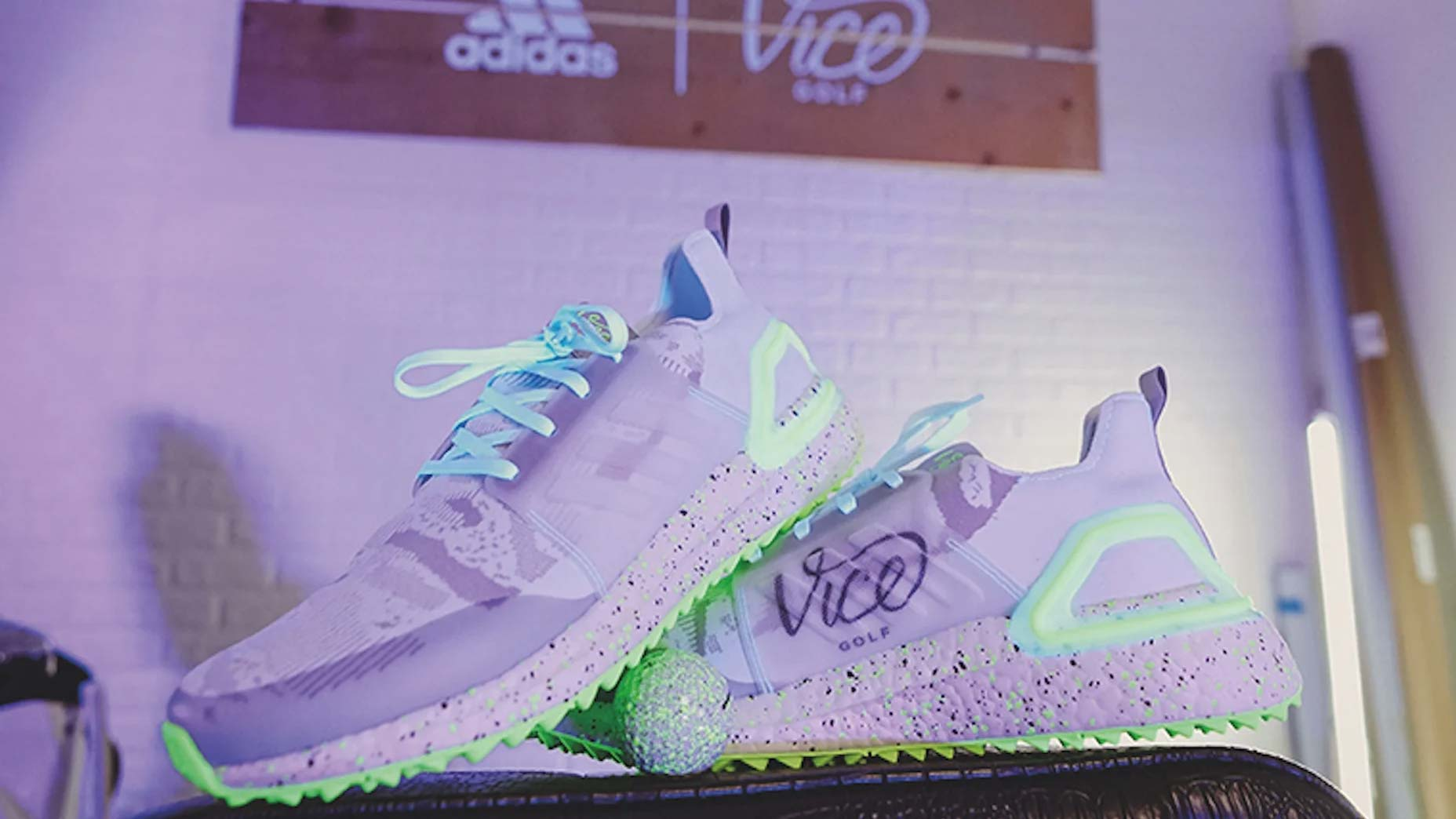 Adidas golf shoe collaboration with Vice