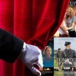 golf films behind curtain