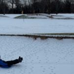 golf course sledding
