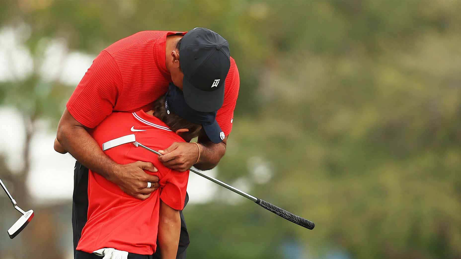 'I'm so proud': Emotional Tiger Woods reflects on weekend with Charlie