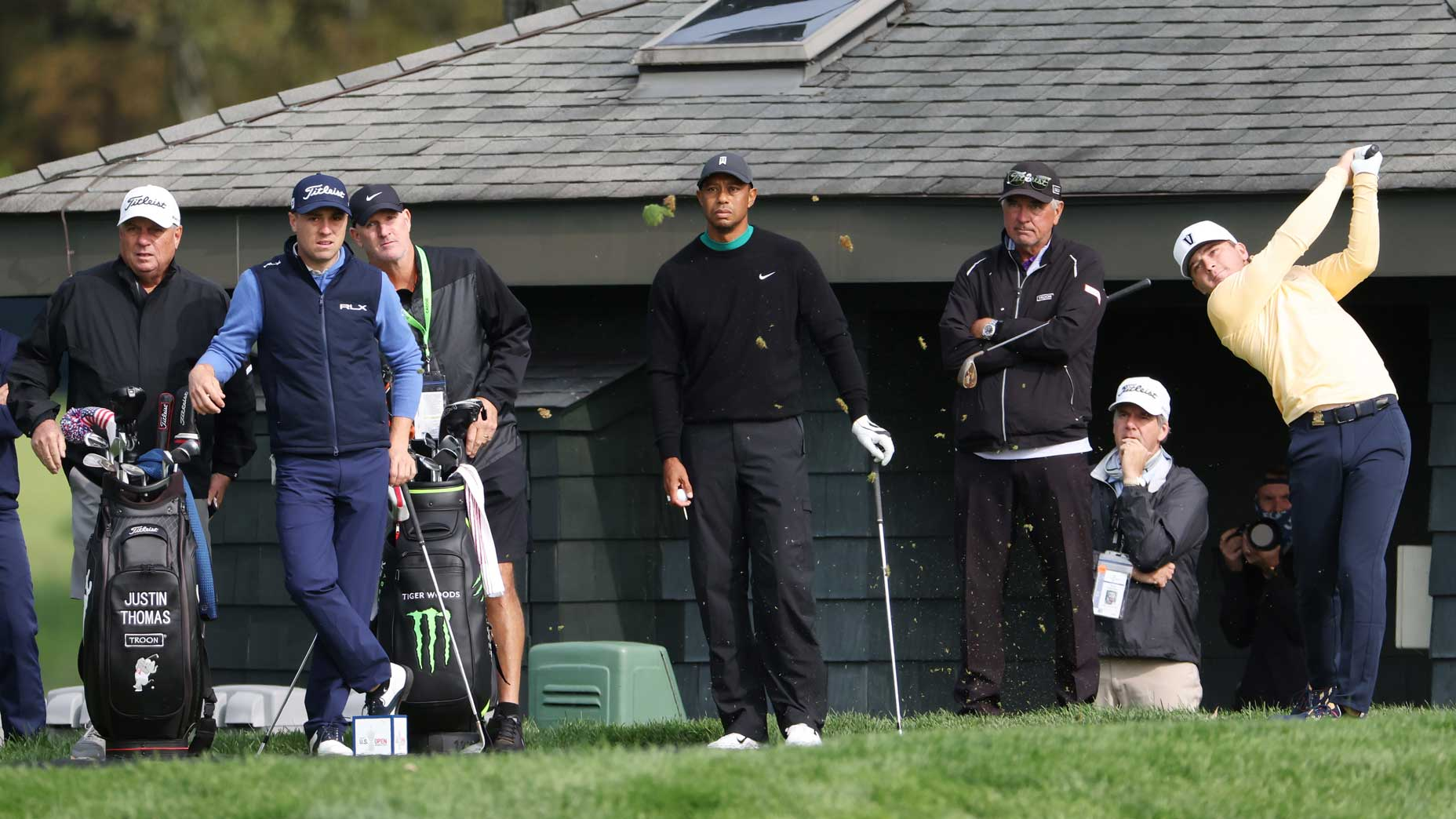 'He looked at me and was like, Why?': Amateur's funny Tiger Woods story
